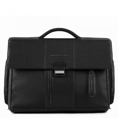 Портфель Piquadro BRIEF CA1045BR/N черный натуральная кожа/ткань