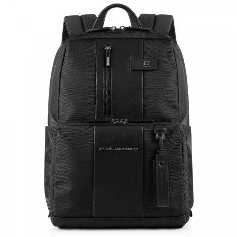 Рюкзак мужской Piquadro Brief CA3214BR/N натуральная кожа/ткань